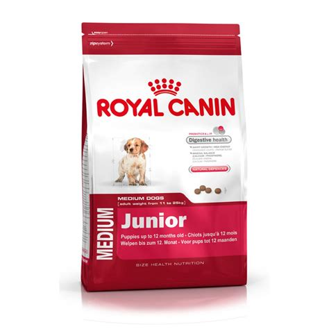 royal canin puppy royal canin medium junior food 15kg feedem