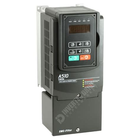 Ac 1 2 Pk Teco teco a510 2 2kw 3kw 400v 3ph ac inverter drive speed controller ac inverter drives 400v