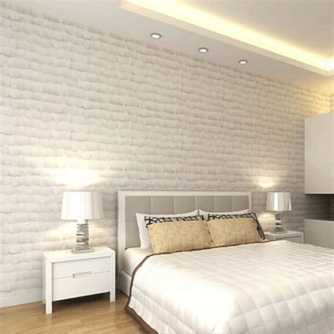feather wallpaper home decor 10m non woven feather wallpaper living room bedroom background decoration home improvement decor