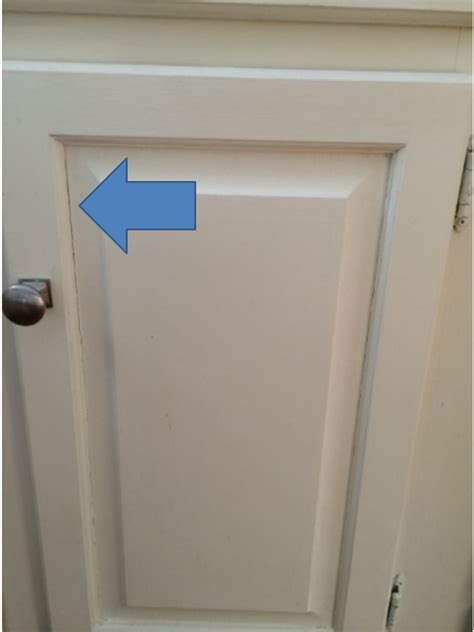 caulking cabinet door panels painted kitchen cabinets effects of winter air and