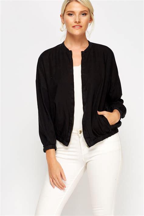 light black bomber jacket light zip up bomber jacket sky blue or black just 163 5