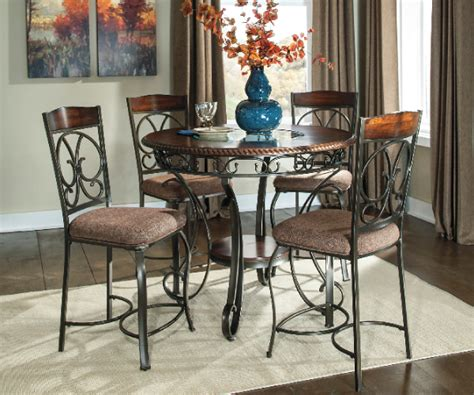 old world dining room sets glambrey old world counter height dining set
