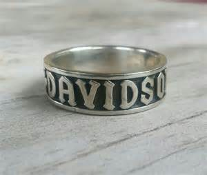 biker wedding ring sets harley davidson ring biker wedding band by youareoutthere