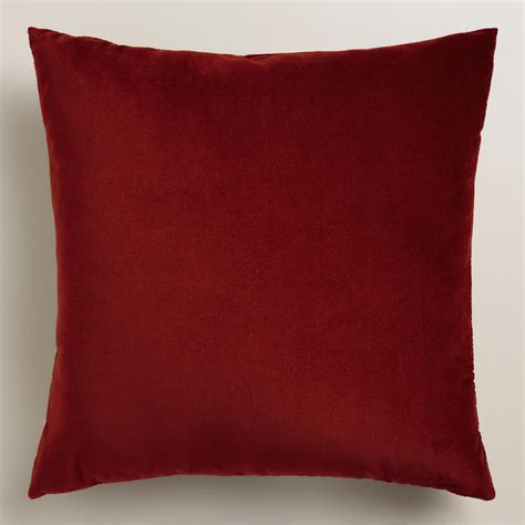 Velvet Throw Pillows Classic Velvet Throw Pillow World Market