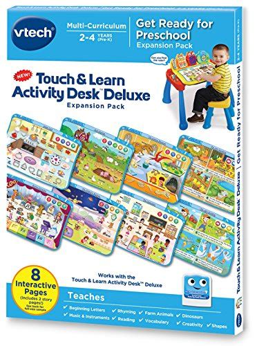 vtech touch and learn activity desk deluxe interactive learning system vtech touch and learn activity desk deluxe expansion pack