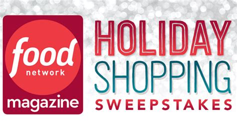Food Network Sweepstakes - foodnetwork com holidayshopping food network holiday shopping sweepstakes