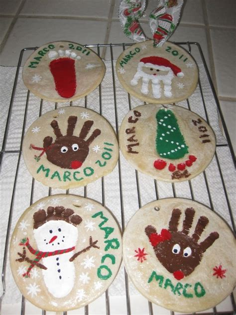 salt dough ornaments fun to make christmas pinterest
