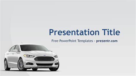 Free Ford Powerpoint Template Prezentr Powerpoint Templates Powerpoint Templates For