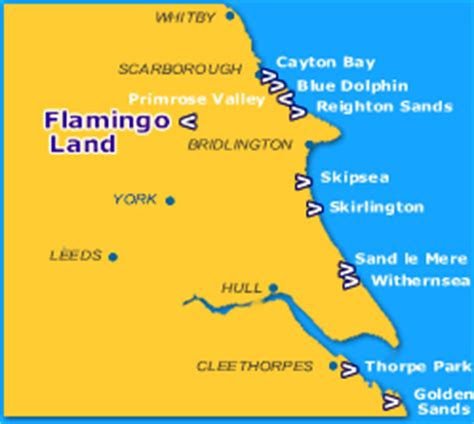 The Bay Duvets Flamingo Land Family Caravan Park North Yorkshire Kids