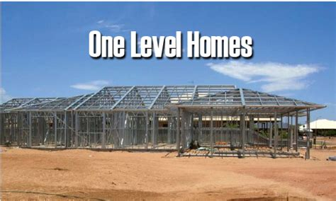 House Plans Single Level Next Generation Living Homes Steel Frame Homes