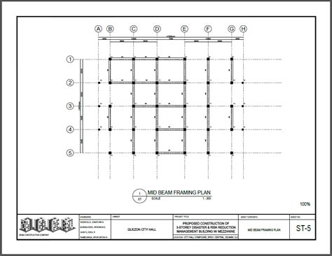 Roof Deck Plan Foundation grab construction corporation