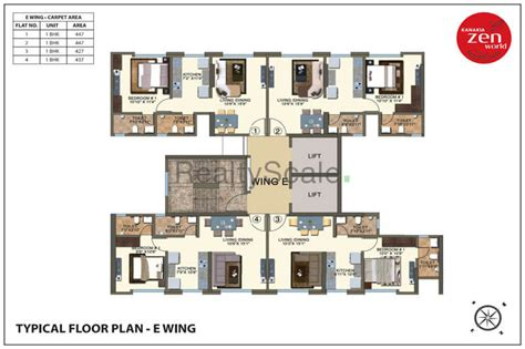 zen house floor plan kanakia zen world at kanjurmarg mumbai reviews price