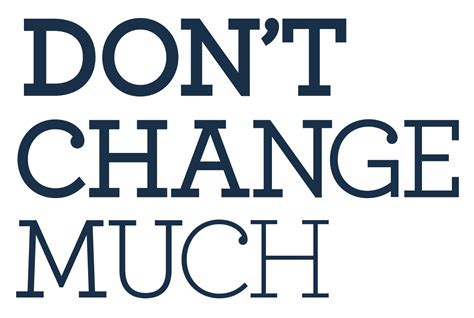 Don T Change don t change much canadian s health foundation