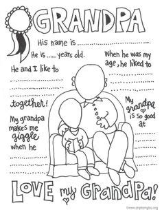 coloring pages for upper elementary grandparents day upper grandparent s day mad lib grandparents students and school
