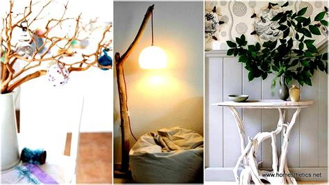 lighted twigs home decorating 20 insanely creative diy branches crafts meant to