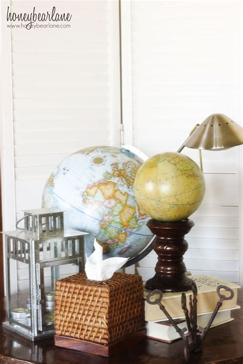 travel themed home decor shopping at world market for office accessories