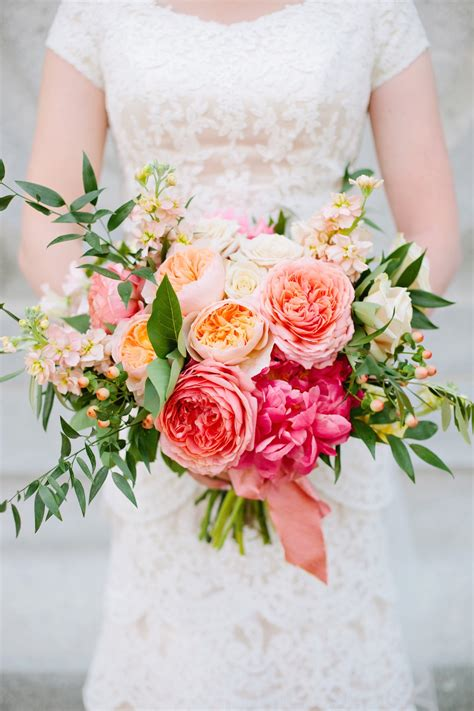 thanksgiving point coral summer wedding flowers utah