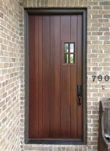 back door craftsman style home