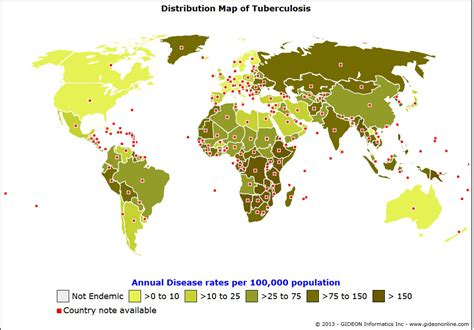 distribution map research de international society for