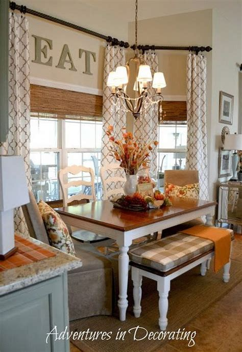 Kitchen Nook Curtains Beautiful And Cozy Breakfast Nooks Hative