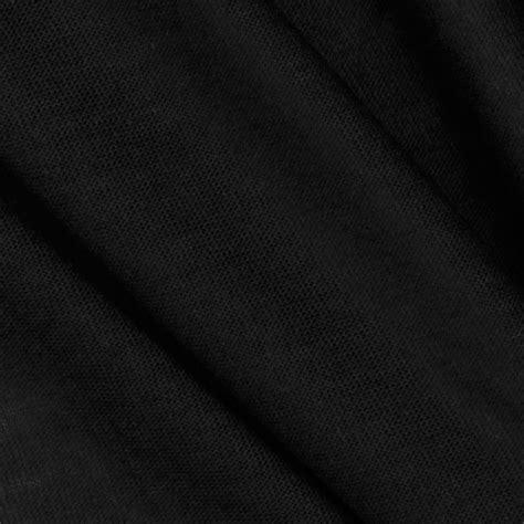 Black Upholstery by Telio Tencel Jersey Knit Black Discount Designer Fabric