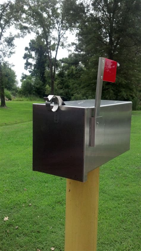 Handmade Mailboxes - the breadbox handmade stainless steel decorative mailbox