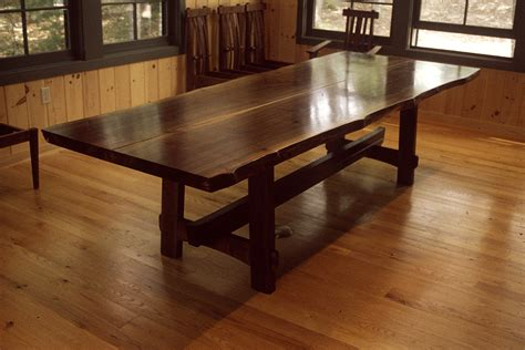 custom made dining tables custom wood furniture maine furniture makers