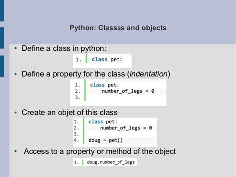 Python Tutorial Classes Objects | cltl python course object oriented programming 1 3