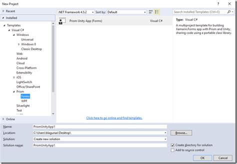 templates for xamarin forms say hello to the prism template pack brian lagunas xaml