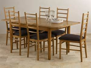 osaka rustic solid oak 4ft 7 quot x 3ft extending dining table