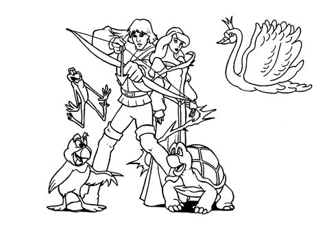 swan princess coloring pages free the swan princess odette coloring pages ideas
