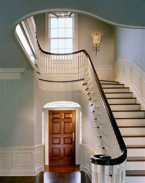 turquoise hallway country entrance foyer peter 492 best stairs and steps images on pinterest stairs