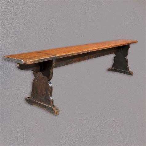 antique kitchen bench antique pine bench long victorian trestle seat kitchen