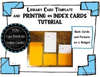 library card template editable free 670 best images about totally tpt freebies on