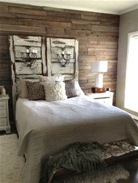 bedroom zenlike master bedroom featuring darkfinished source house of fifty rustic cabin style bedroom with