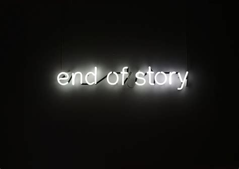 End Of by End Of Story Tim Etchells