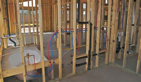 plumbing a new house frederick county plumbing installer creede bath home