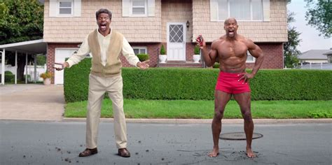 terry crews advert terry crews marries himself in hilariously bizarre old