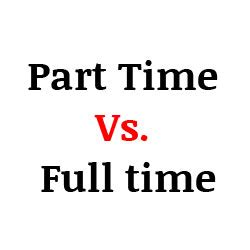 Or Part Time Mba by Part Time Vs Time Mba