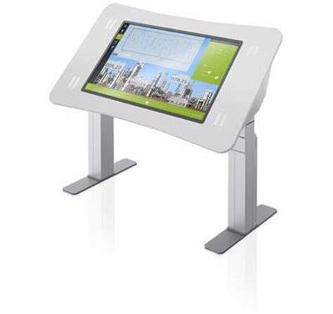 Touch Screen Computer Desk Collaborative Touchscreen Table For 24 7 Rooms Abb