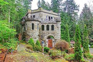 castle house a forest castle in washington state house