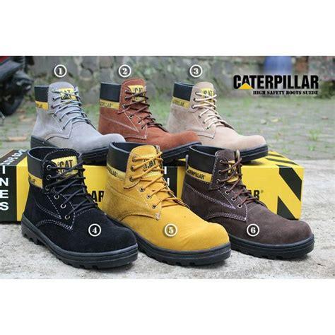 Sepatu Pria Caterpylar Energi Made In Francis jual sepatu caterpillar safety boots suede baru sepatu boots pria berkualitas