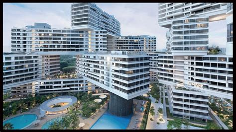 the amazing interlace housing complex in singapore the interlace singapore world building of the year and