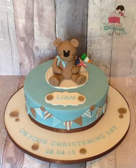 Teddy Baby Shower Cake Ideas by 41 Best Images About Christening Baby Shower Cakes On