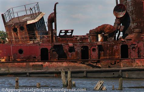 tugboat island abandoned tugboat graveyard staten island new york