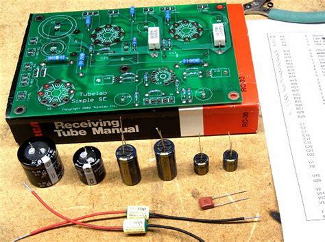 capacitor polarity markings on board capacitors tubelab