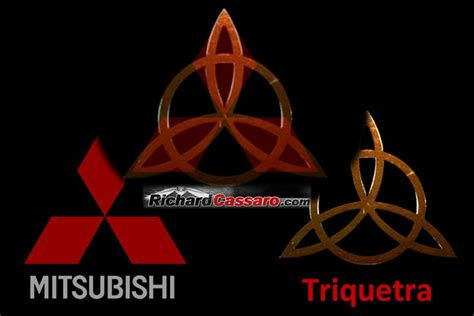 mitsubishi symbol meaning occult symbols in corporate logos pt 1 rediscovering