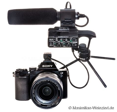 Kamera Sony Xlr maximilian weinzierl fotografie und viel mehr nachtrag zum quot o ton mit der sony alpha 7 quot