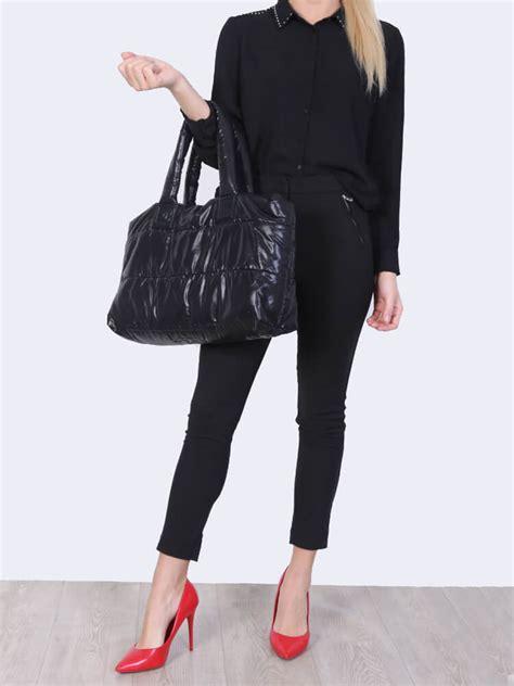 chanel coco cocoon reversible tote bag black burgundy