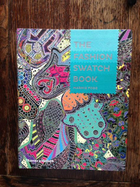 libro the fashion swatch book the fashion swatch book